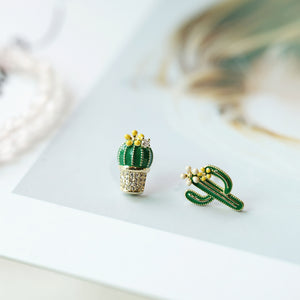 Cactus Designer Cute Stud Earrings