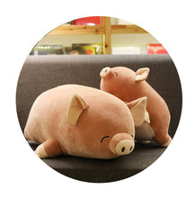 Load image into Gallery viewer, Fluffy Piggy Plushie