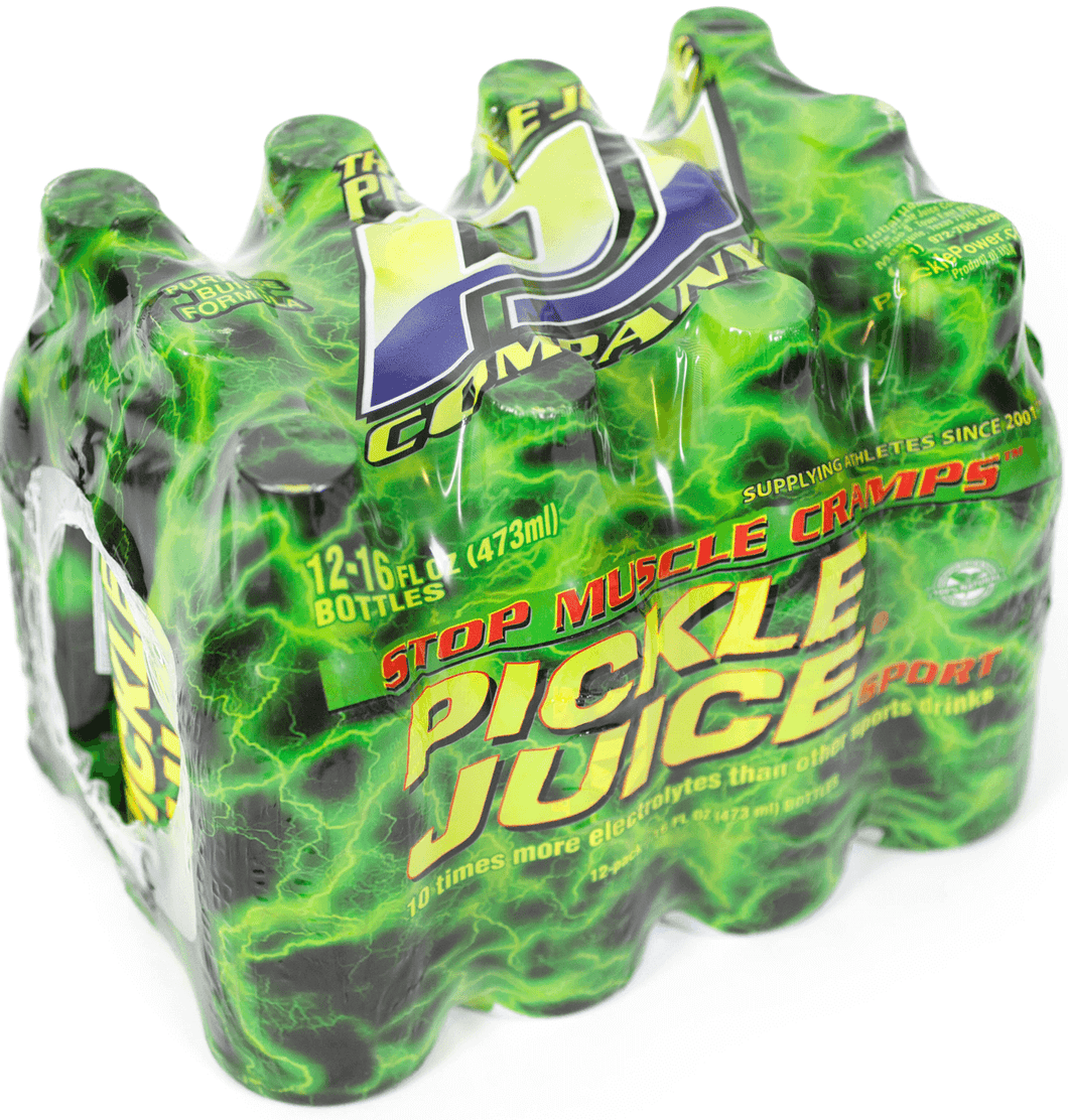 12 / 16 oz Pickle Juice Sport Shrink Pack