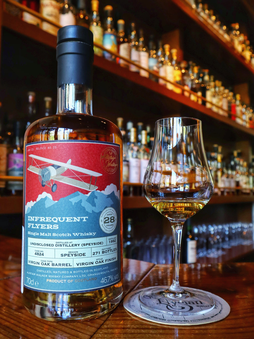 Infrequent Flyers Undisclosed Speyside 1992/2020 28yo, Virgin Oak Finish, 46.7%