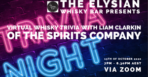 Virtual Whisky Trivia with Liam Clarkin of The Spirits Company