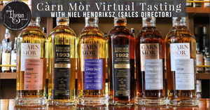 Carn Mor Virtual Tasting with Sales Director, Niel Hendriksz