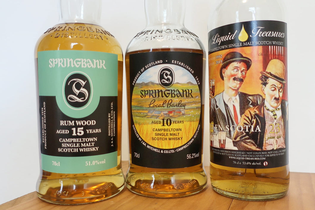 Campbeltown Trio Sample Pack