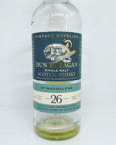 Dun Bheagan St. Magdalene 1982/2009 26yo, Sherry Butt, 50% (15ml Only)