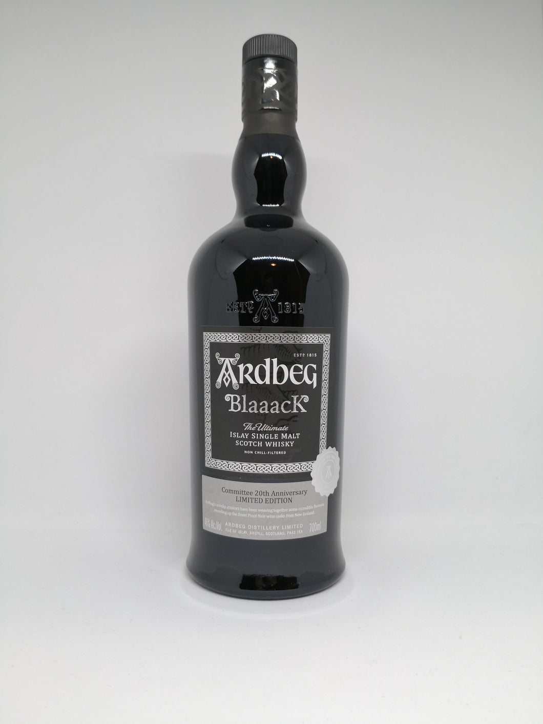 Ardbeg BlaaacK, 2020 Limited Edition, 46% (BOTTLE)