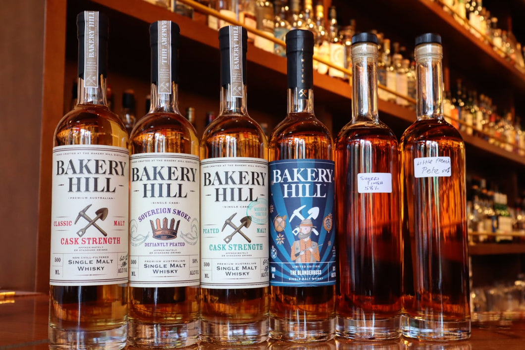 Virtual Bakery Hill Tasting with Andrew & David Baker: Cask Strength Classics & Rarities