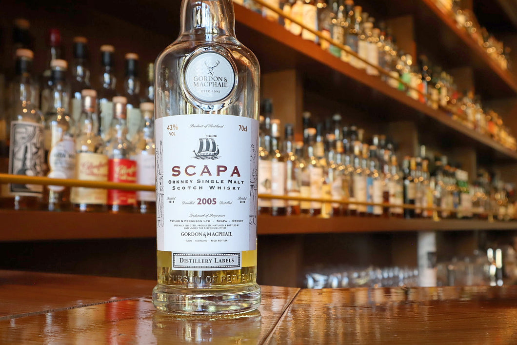Gordon & Macphail Distillery Labels Scapa 2005/2018 13yo, 43%