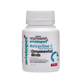 ARISTOPET ANTIBIOTIC RESPIRATORY BIRD 50G