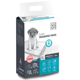 M-PETS PUPPY TRAINING PADS 60X60CM 15PK