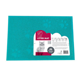 M-PETS CAT LITTER MAT BLUE 42CMX32CM