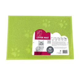 M-PETS CAT LITTER MAT GREEN 42CMX32CM