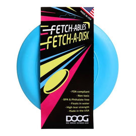 DOOG FETCHABLES FETCH-A-DISC BLUE