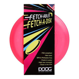 DOOG FETCHABLES FETCH-A-DISC PINK