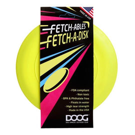 DOOG FETCHABLES FETCH-A-DISC YELLOW