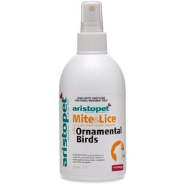 ARISTOPET BIRDS MITE AND LICE SPRAY MANAGEMENT 250ML