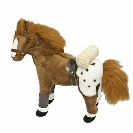 BOCCHETTA PLUSH SOFT TOYS APPALPPSA HORSE WITH SADDLE (GYPSY)