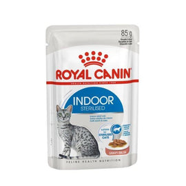 ROYAL CANIN FELINE INDOOR WET PUCHES GRAVEY 85G