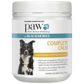 PAW BLACKMORES Complete Calm Chews 300G