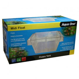 AQUA ONE GUPPY BREEDING TANK MIDI FLOAT 19.5X10.5X10CM