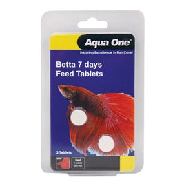 AQUA ONE BETTA BLACK 7 DAY TABLETS 2PK