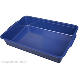 CAT LITTER TRAY RECTANGLE SMALL L37 X W25 X H7CM