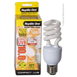 REPTILE ONE COMPACT UVB BULB 26W UVB 10.0