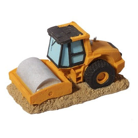 AQAU ONE ORNAMENT ROAD ROLLER TRUCK 13.6X7.2X7.2CM