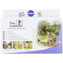 KAZOO THE LOOKOUT WINDOW DESERT SAND BED FOR CATS 32X56CM