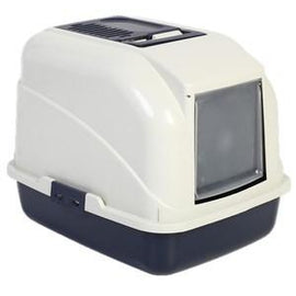 BONO FIDO CAT LITTER TRAY WITH HOOD & FLAP