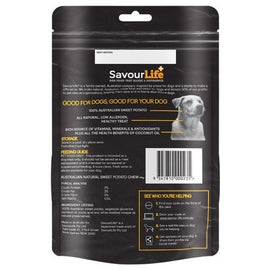 SAVOURLIFE NATURALS SWEET POTATO CHEW WITH COCONUT OIL 165G