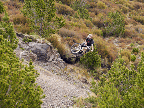 Chill Dirt Features Bike Methven by Cam Bisset