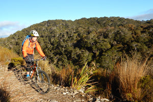 Chill Dirt Features - Mostly Downhill. Riding the Heaphy Track. With Kids. By Laurence Mote.