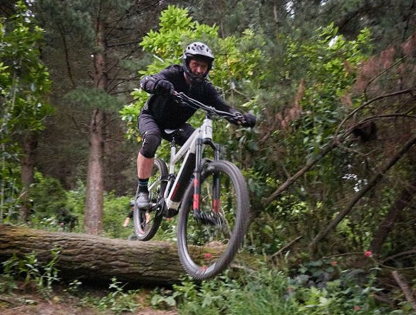Chill Dirt Features Backyard Bonanza By Sam Masters. Daryl Warnock at Urumau MTB Park.