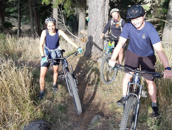 Chill Dirt Features Backyard Bonanza By Sam Masters.  Urumau MTB Park.