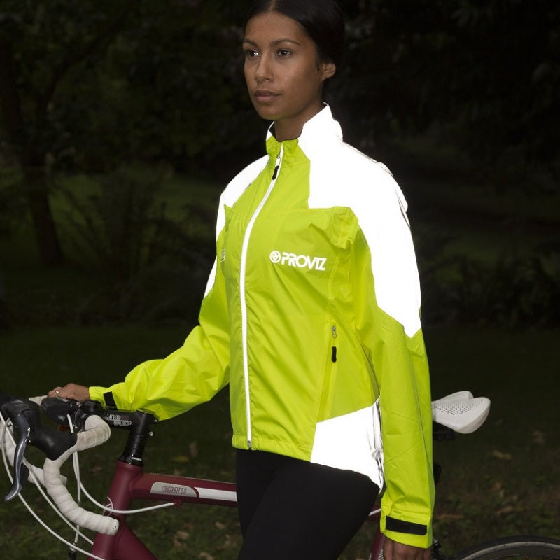 Proviz Nightrider High Vis Waterproof Jacket - Women's