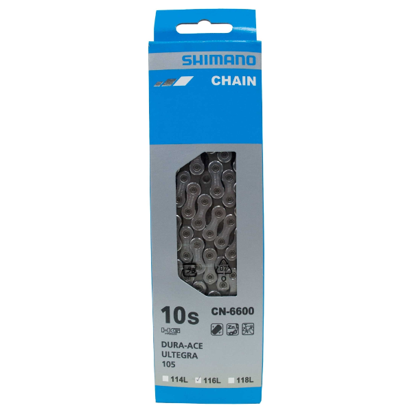 Shimano CN-6600 Road Chain 10-Speed Ultegra 6600 Series 6700 Triple