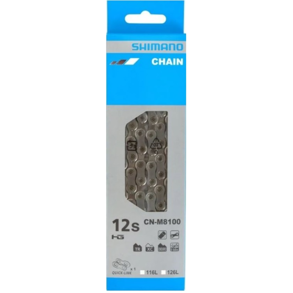 Shimano CN-M8100 MTB Chain 12-Speed XT w/Quick Link