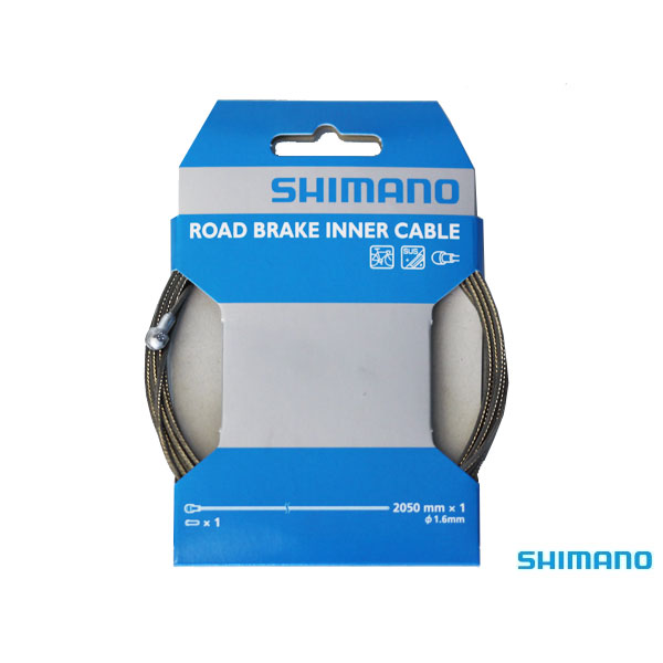 Shimano Brake Cable Road1.6mm x 2050mm Stainless