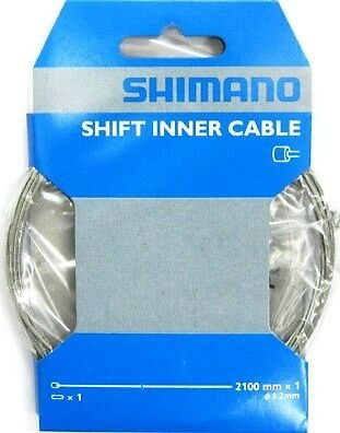 Shimano Gear Cable 1.2mm x 2100mm Stainless