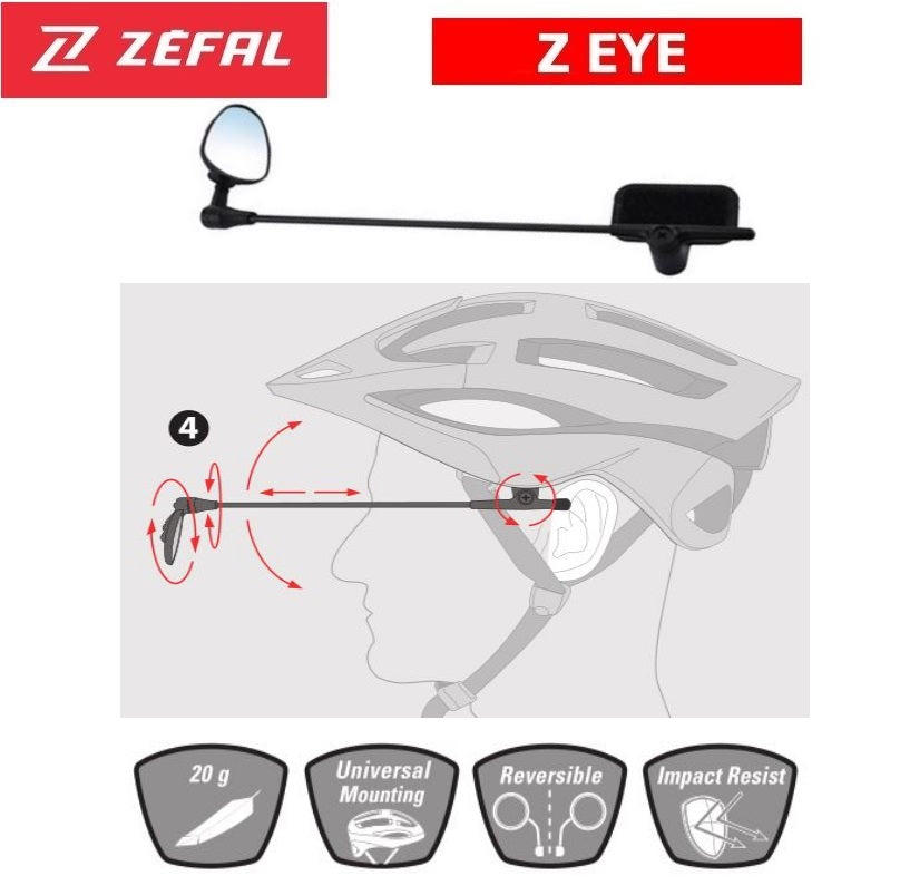 Zefal Z-Eye Helmet Mirror
