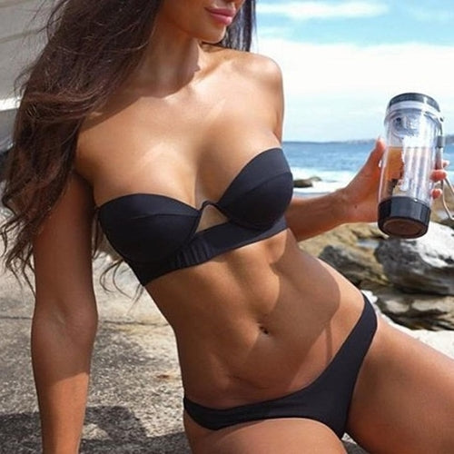 Charming Women Sexy Bikini Set Push-Up Padded