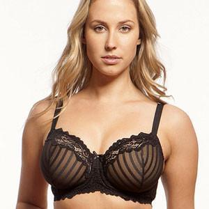 Full Figure Sheer Mesh Bra Lunaire Barbados