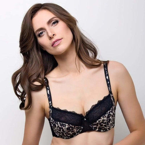 Semi-Sheer Full Coverage Bra Lauma Lingerie Wild Passion