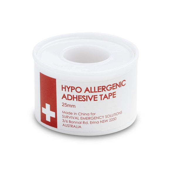 Hypo allergenic adhesive tape, 25mm