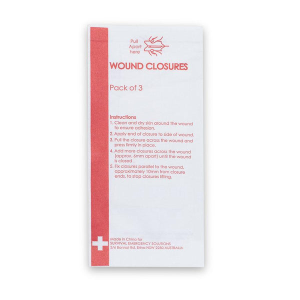 Wound Closures (Pack of 3)