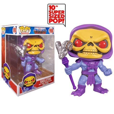 "Funko! Masters of the Universe 10"" Skeletor Super Sized Vinyl POP 