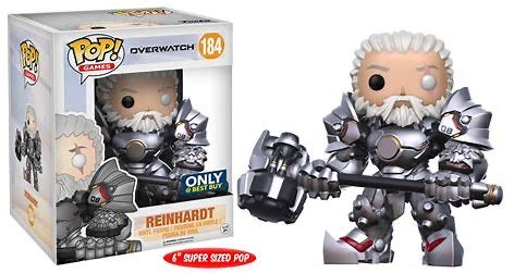 "FUNKO! Games Overwatch 6"" Reinhardt Exclusive Vinyl POP 