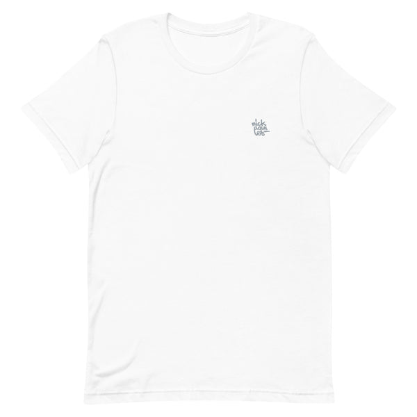 Embroidered Scribble Logo Tee
