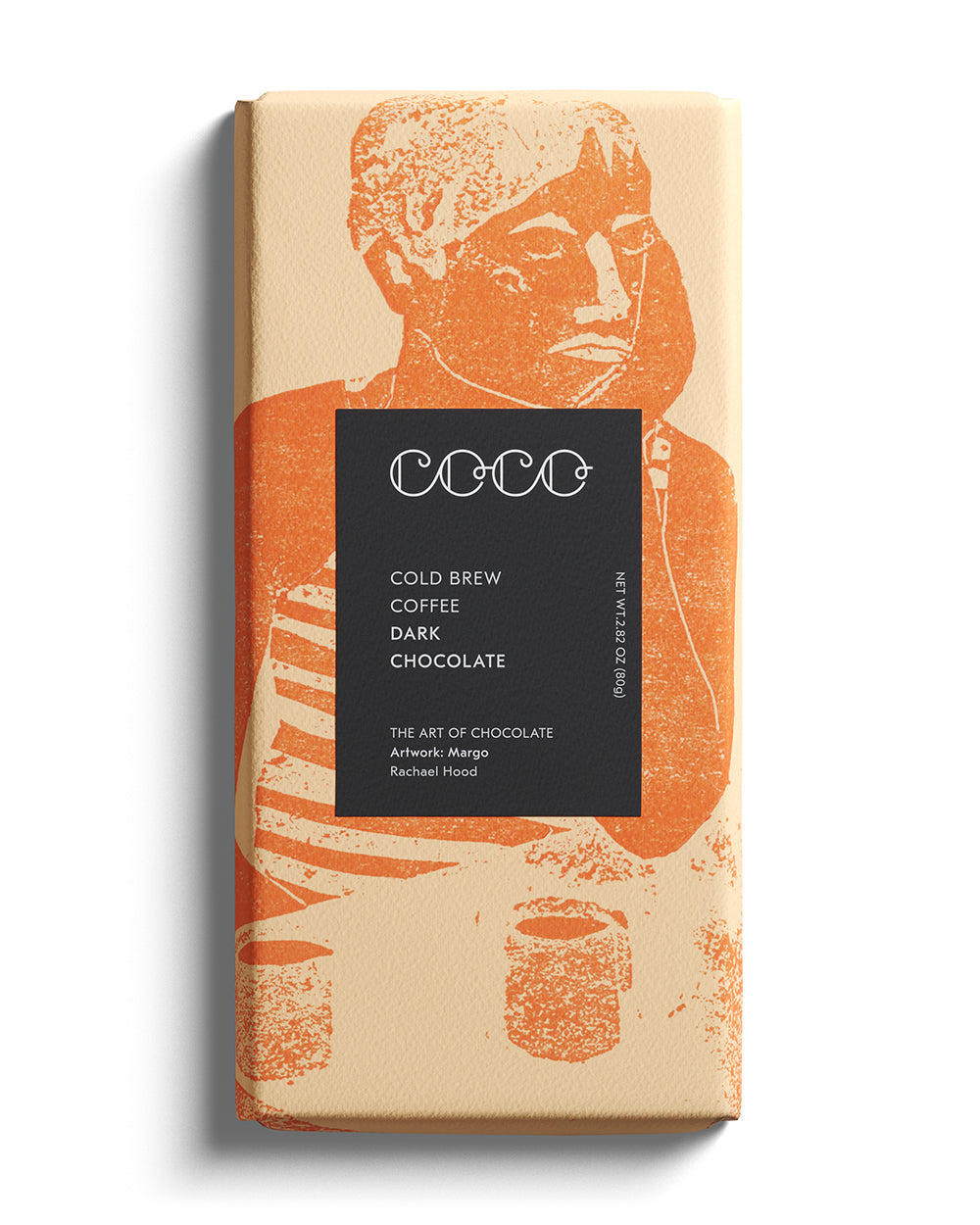 COCO Chocolatier - Schokolade COLD BREW COFFEE - 80g