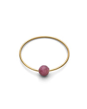 Laden Sie das Bild in den Galerie-Viewer, Jukserei - BIRTHSTONE Ring - gold